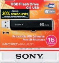 Sony rembourse 30% du prix de ses clés usb