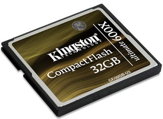 Une Compact Flash hyper rapide chez Kingston