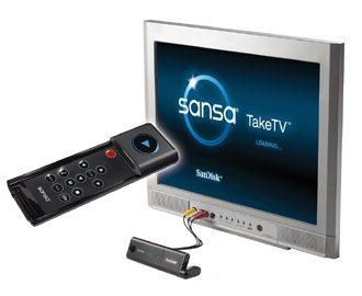 Sandisk dévoile le SansaTakeTV