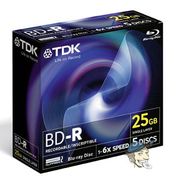 Photos des BD-R certifiés 6x de TDK