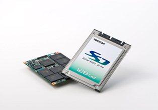 Toshiba dévoile plusieurs disques SSD