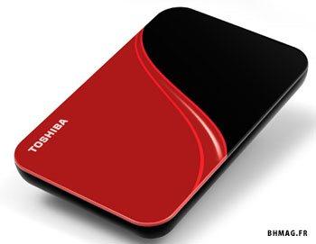 Toshiba  StorE Art 2,5 : des disques durs externes de 250 à 500Go