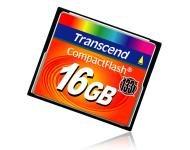 Carte CF 133x de 16Go chez Transcend