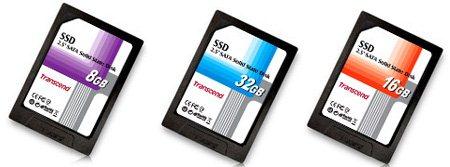 Des disques SSD de 8 à 32Go chez Transcend