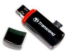 Un mini lecteur de memory card chez Transcend