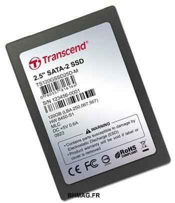 Un SSD avec 64Mo de cache chez Transcend