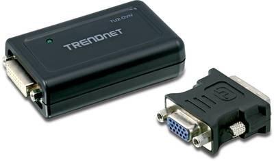 Le TU2-DVIV connecte votre moniteur au port usb