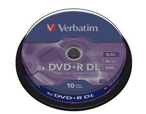 Verbatim dévoile un DVD+R DL 8x et LightScribe