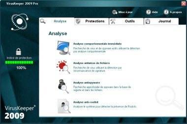 L'antivirus VirusKeeper débarque en version 2009