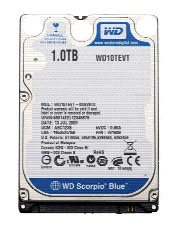 WD Scorpio Blue : 750Go et 1To en 2,5 pouces
