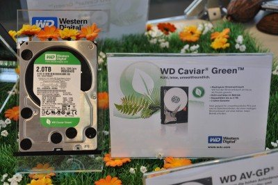 Western Digital expose son HDD de 2To au Cebit