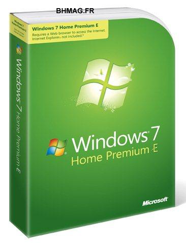 A quoi ressembleront les boites de Windows 7 E ?
