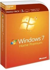 Windows 7 : un pack de trois licences