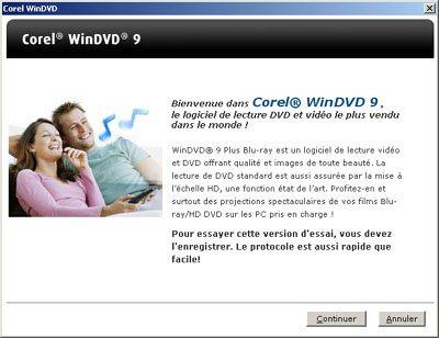 Corel lance WinDVD 9 Plus Blu-ray
