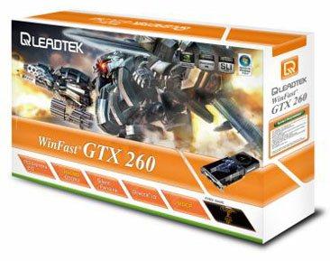 GeForce GTX 280 et 260 officialisées chez les fabricants