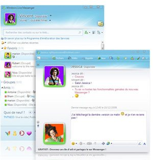 Télécharger Windows Live Messenger 2009 final