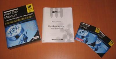 Zebulon teste Hard Disk Manager 2009