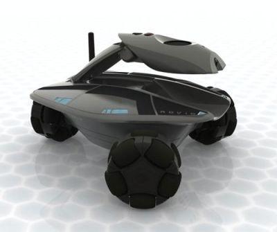 Rovio: un robot à piloter à distance via le wifi