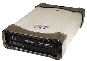 Un combo CD DVD HD-DVD et Blu-ray chez Addonics