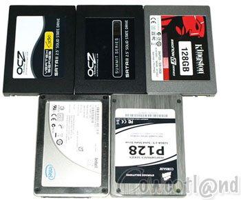 Une flopée de SSD comparés !