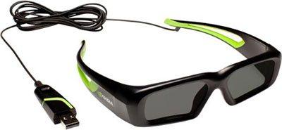 Une nouvelle paire de lunettes 3DVision, avec un fil cette fois !