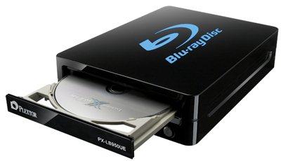 Plextor PX-LB950UE : 12x, eSATA et USB 3.0 : la rolls des graveurs Blu-ray externe ?