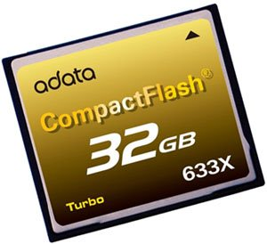 Record battu ! Une Compact Flash 633x chez A-Data