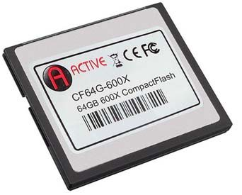 Une Compact Flash 600x chez Active Media