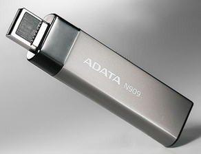 Une clé à double connectique (USB 2.0 et eSATA) chez A-Data