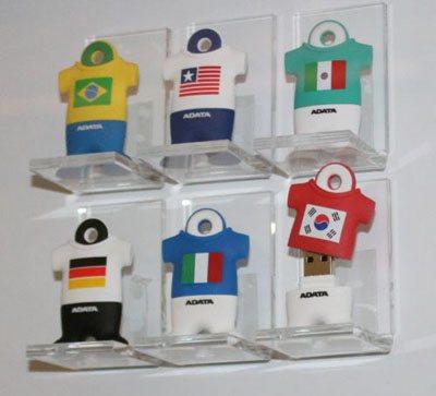 Des clés usb pour la Coupe du Monde de Football