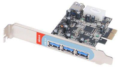 Akasa sort une carte contrôleur avec 4 ports USB 3.0