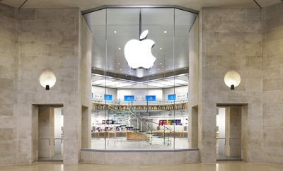 Apple inaugurera demain son premier Apple Store en France