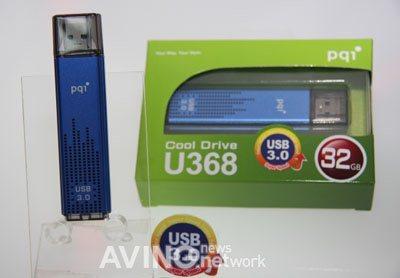 Une clé USB 3.0  flashée à 105 Mo/s au Computex