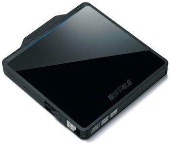 Un nouveau graveur DVD slim chez Buffalo