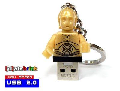 Une clé usb C3PO pour les fans de Star Wars
