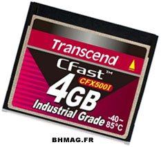 CFast 500i : une carte Compact Flash qui résiste à tous les temps