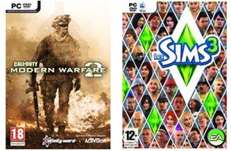 Le TOP 5 des jeux vidéos les plus piratés en 2009
