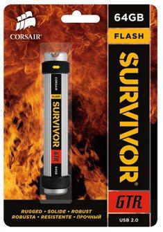 Corsair lance la Flash Survivor GTR, une clé usb rapide et solide
