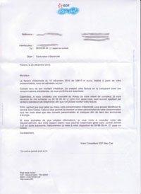 Un membre de notre forum reçoit une facture EDF de 60.000 euros [MAJ]