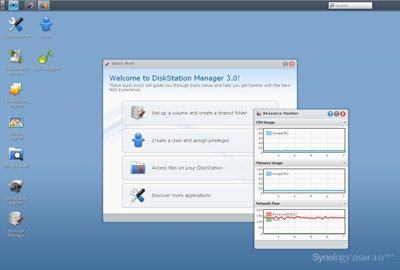 Synology publie la version 3.0 de DiskStation Manager