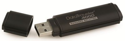 Kingston DT4000-M : un coffre fort USB ?