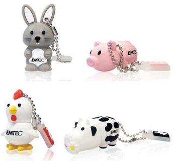 Vous aimez les animaux et les clés usb ?