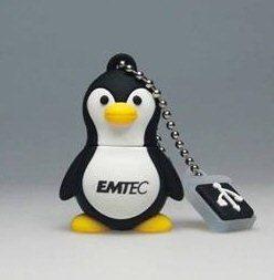 Un Pingouin avec 8Go de stockage chez Emtec