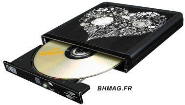 Un graveur DVD au look personnalisable