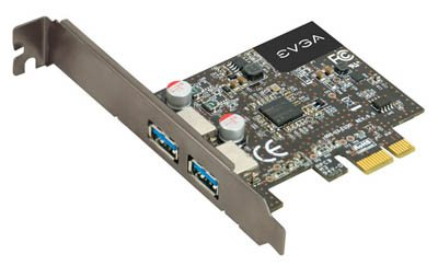 Une carte d'extension USB 3.0 chez eVGA