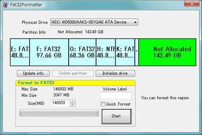 Comment formater un disque dur externe en FAT32 ?