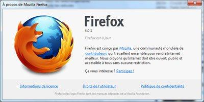 Mozilla met à jour FireFox (4.0.1) et Thunderbird (3.1.10)