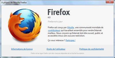 La version finale de FireFox 4.0 est disponible sur BHMAG !