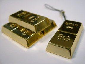 Une clé usb en or pour les geeks bling bling