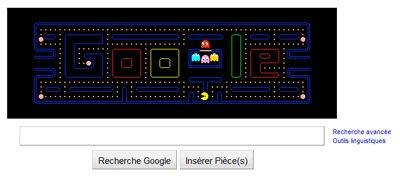 Google fête les 30 ans de PacMan